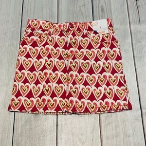NWT Gymboree Hearts Skirt